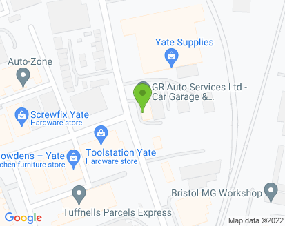 Map for G R Auto