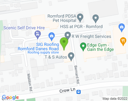 Map for Allen & Hall Motor Engineers