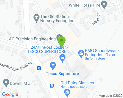 Map for NMV Services Ltd