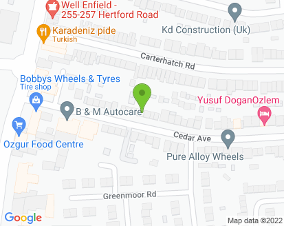 Map for B & M Autocare Ltd