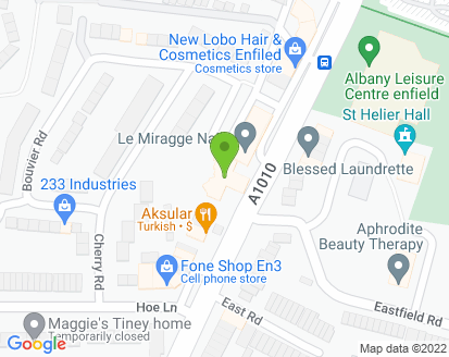 Map for Diamond Shine Group Ltd T/A Empire Garages