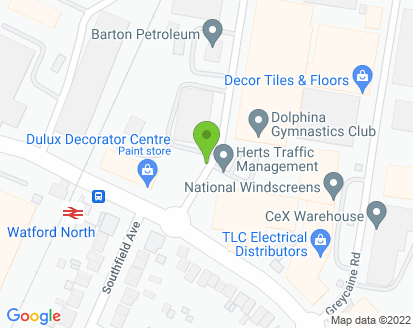Map for T & F Motors