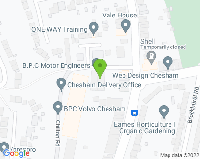 Map for B P C Motor Engineers Ltd