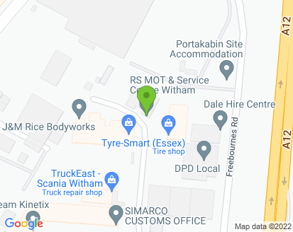 Map for RS MOT & Service Centre