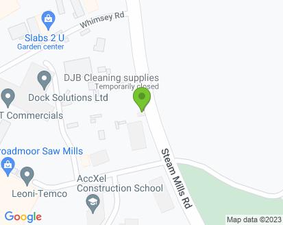 Map for Cinderford MOT & Service Centre Ltd