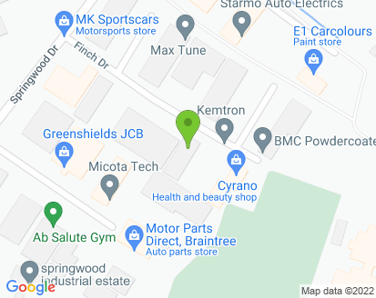 Map for John Hazell Auto Repairs
