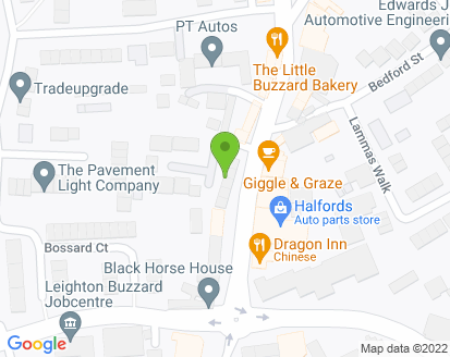 Map for P T Autos Ltd