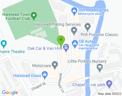 Map for MOT Services (Halstead) Ltd