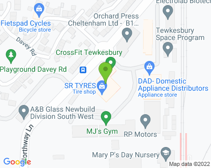 Map for R P Motors