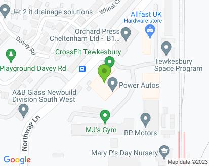 Map for R P Motors