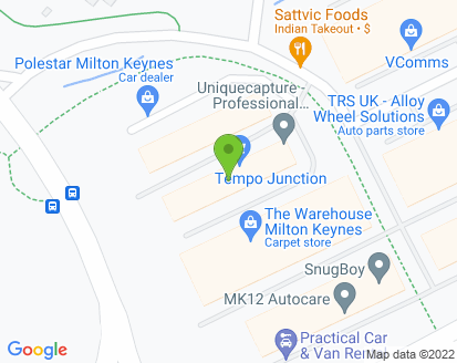 Map for M K Auto Care