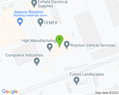 Map for Royston Vehicle Services Ltd