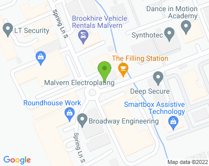 Map for European Car Services