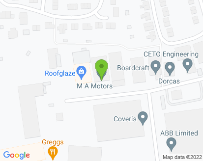 Map for M A Motors (St Neots) Ltd