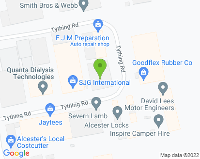 Map for David Lees Motor Engineers