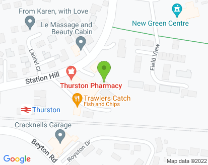Map for David Martin Motor Vehicle Engineer