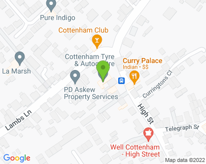 Map for Cottenham Tyre & Auto