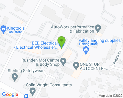 Map for Rushden Vehicle Specialists