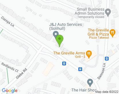 Map for Solihull Auto Services Ltd
