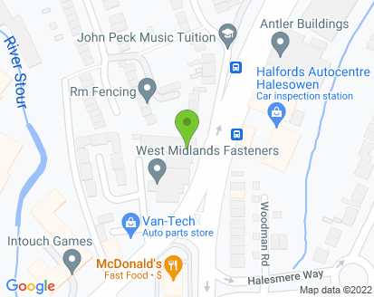 Map for Crestwood Motors (Eng) Ltd
