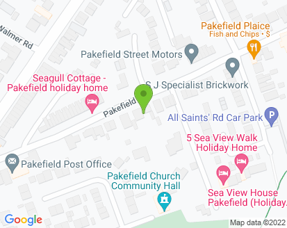 Map for Pakefield St Motors