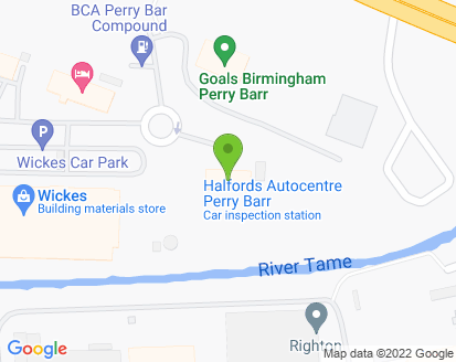 Map for Perry Garage