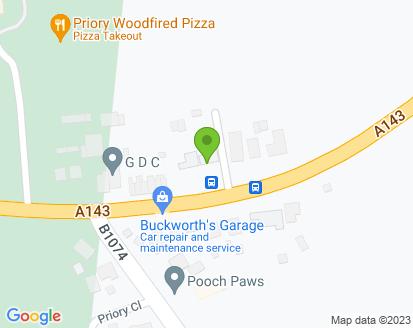 Map for Buckworths Garage Ltd