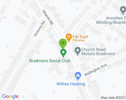 Map for Church Road Motors