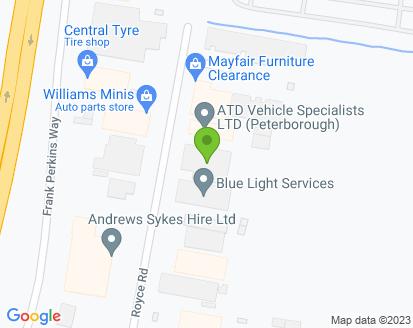 Map for S K S Auto Services Ltd