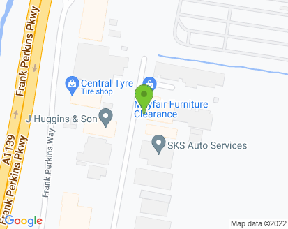 Map for Harlings Auto's
