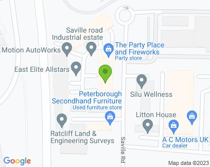 Map for Saville Road Service Centre Ltd