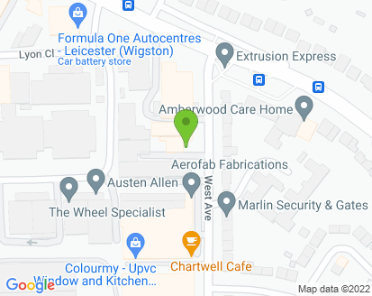 Map for J Robson Autos Ltd