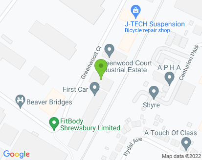 Map for First Car UK Ltd