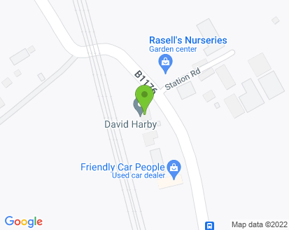 Map for David Harby Motor Engineers