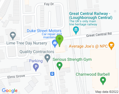 Map for MC PPS Ltd T/A Duke Street Motors