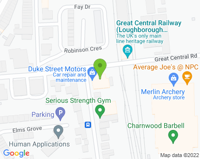 Map for MC PPS Ltd T/A Duke Street Motors