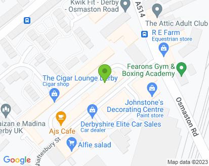 Map for The Lion Garage Ltd T/A McEwans Garage