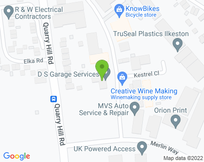 Map for DS Garage Services Ltd