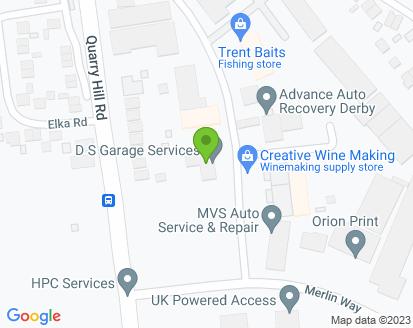 Map for DS Garage Services Ltd