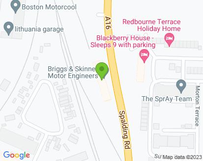 Map for Briggs & Skinner Ltd