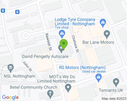 Map for David Pengelly Autocare Ltd