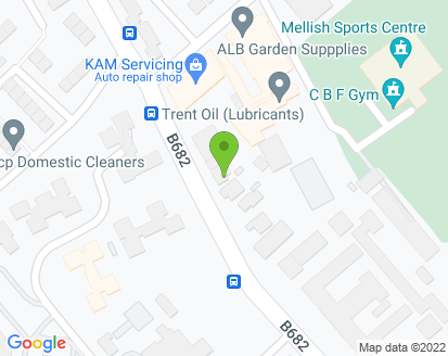 Map for KAM Servicing Bulwell