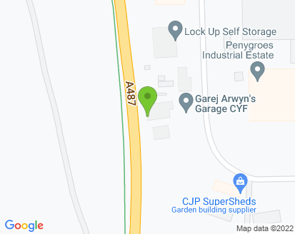 Map for Garej Arwyns Garage