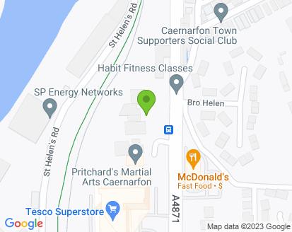 Map for B & K Williams Ltd