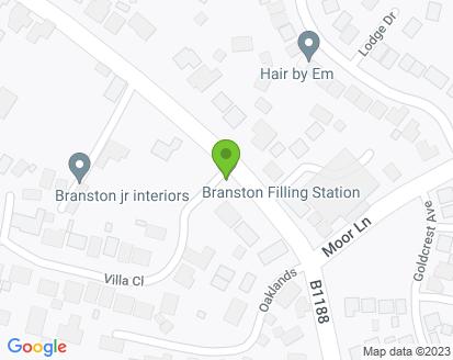 Map for Branston Filling Station Ltd