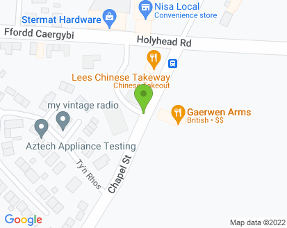 Map for Ty Crwn Garage