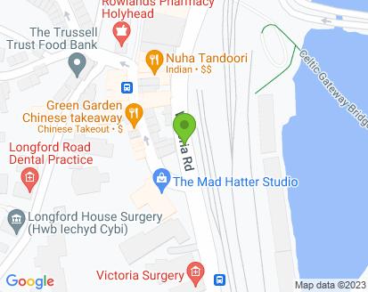 Map for Victoria Garage
