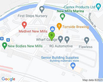 Map for Wharf Garage