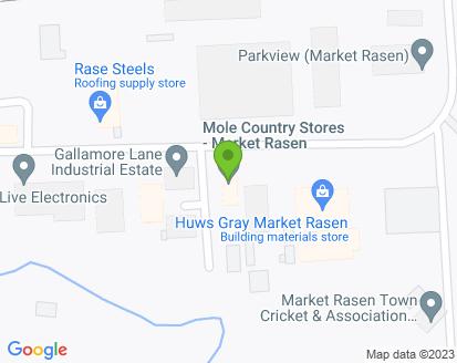 Map for Parkview Market Rasen Ltd