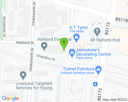 Map for Dingwall Autos Liverpool